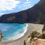 Free camping places in Crete