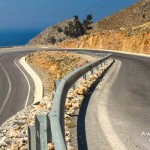 driving Cretan roads with a hire car