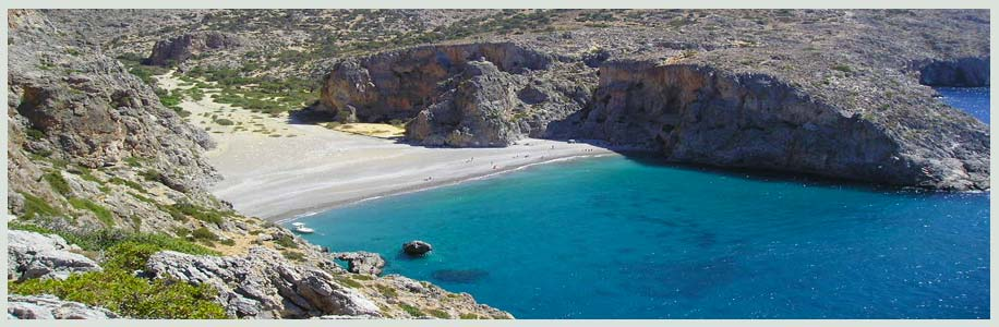 Crete beach / rent a car Heraklion