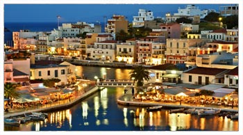 agios Nikolaos at Night