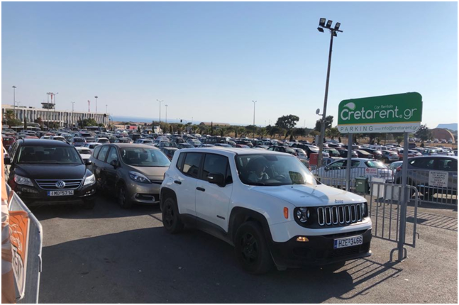 car hire locations in crete