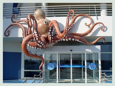 Heraklion Car Hire, Cretaquarium
