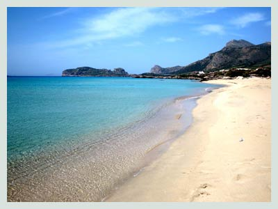 Car Rental In Crete, Falasarna