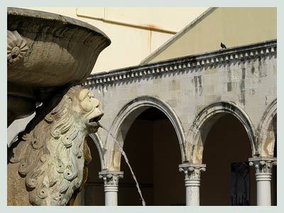 Car Rental Crete, Morosini Fountain