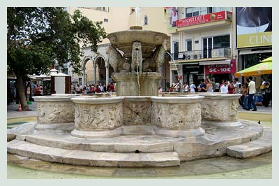 Car Hire Crete, Morosini Fountain