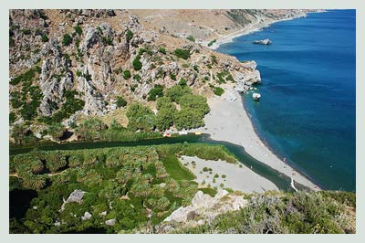 Car Hire Heraklion Airport, Preveli